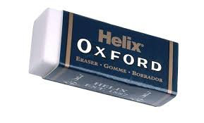 Oxford Small Sleeved Eraser