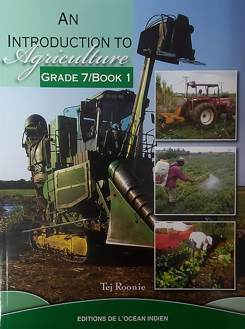 An Introduction To Agriculture Book 1
