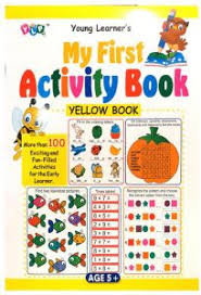 My First Activity Book- Yellow Book