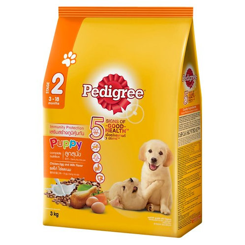 Pedigree Puppy Chk Egg Milk 3Kg