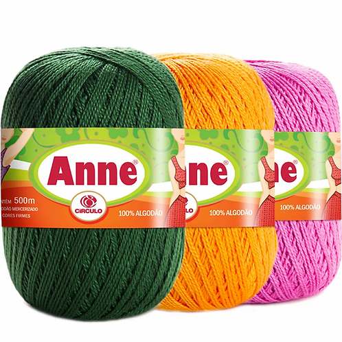 ANNE Fil a Crocheter (Differentes colories)