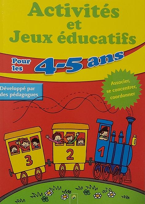 Activités et jeux éducatifs pour les 4-5 ans