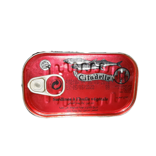 Citadelle Sardine in Vegetable oil (125g)