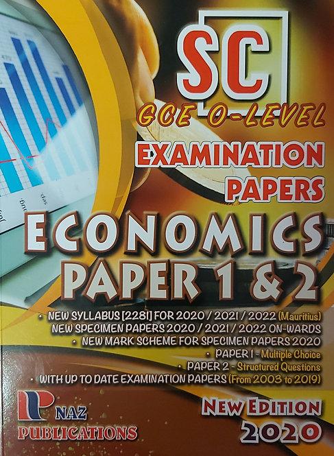 Naz-Economics Sc/Gce O Level Ed 2020