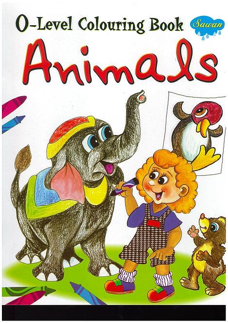 O-Level Colouring Bk - Animals