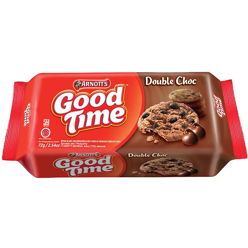 Good Time Double Choc Chocochips Cookies 72g
