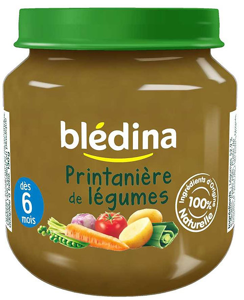 Bledina Printanière De Légumes-130g