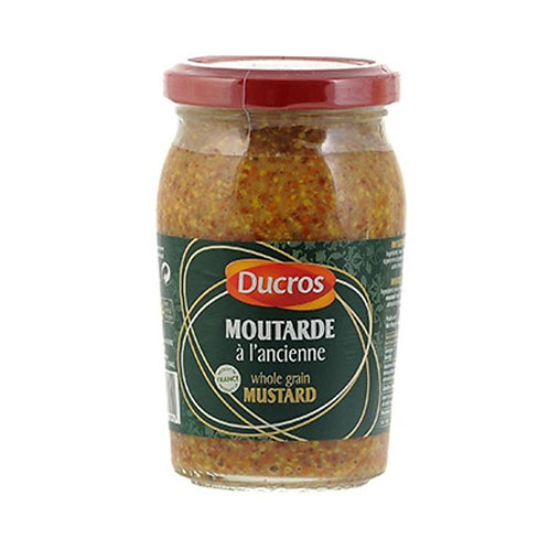 Ducros Moutarde a l'ancienne 210g