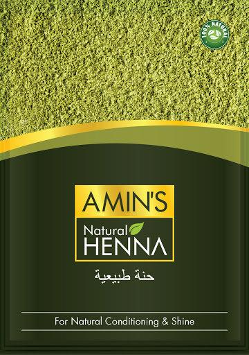 Amin's Natural Henna 1Kg