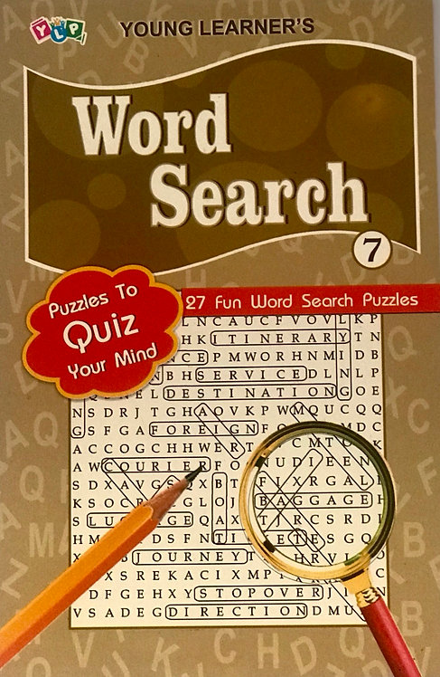Word Search Puzzles Level 7