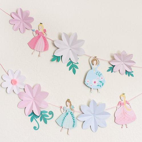Party Deco Banner-Princess