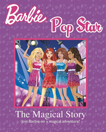 The Magical Story Barbie Pop Star