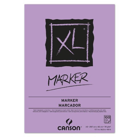 Canson XL Marker A4 70g 100 Sheets