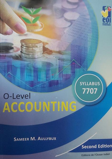 O Level Accounting 2Nd Ed