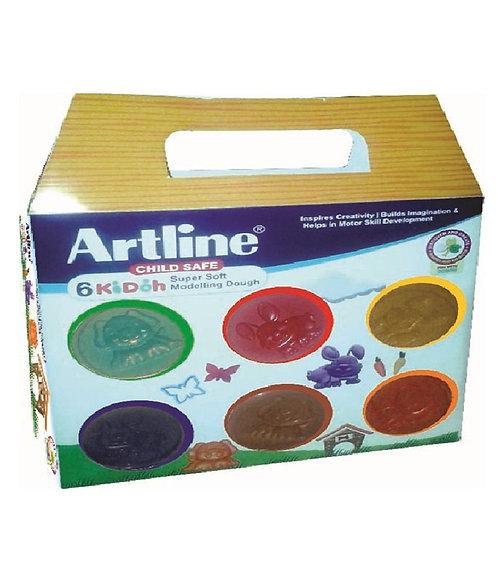 Artline Super soft Modelling Dough 6