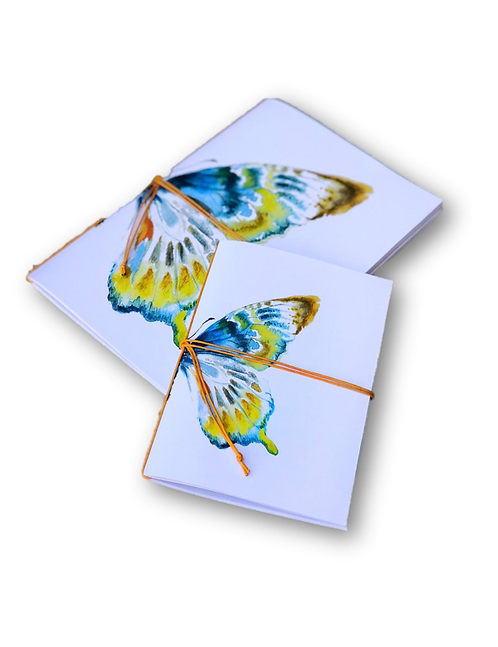 Notebook Butterfly (A5 & A7)-80pages