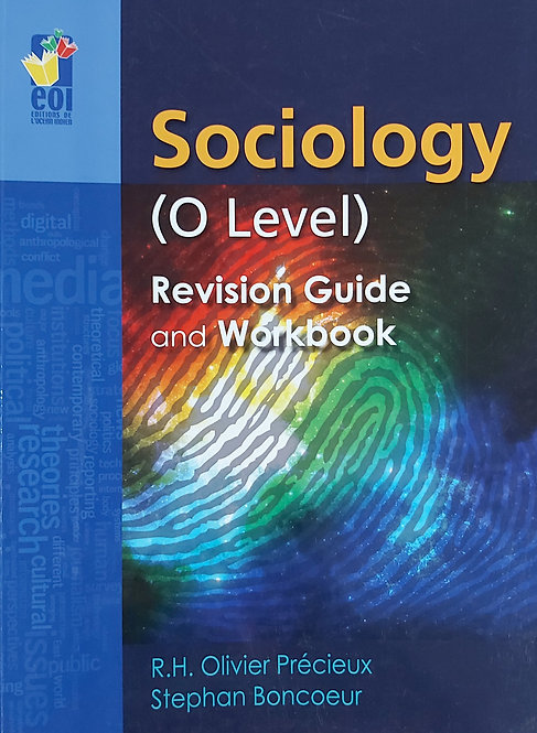 Sociology O Level Revision Guide & Workbook