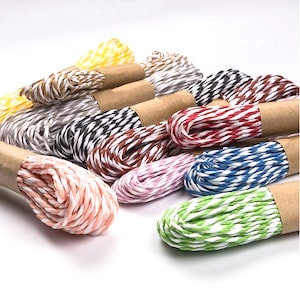 Paper String Rope 10mts x 12pcs Assorted Color