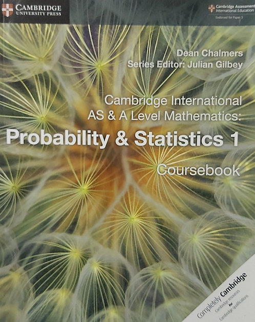 CUP-AS & A Level Probability & Statistics 1 -Chalmers
