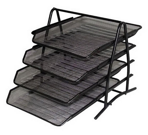 Document Tray Metal 4-tier