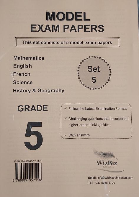 Mock Papers G5 (Set 5 Of 5 Model Exam Pp) Wizbiz