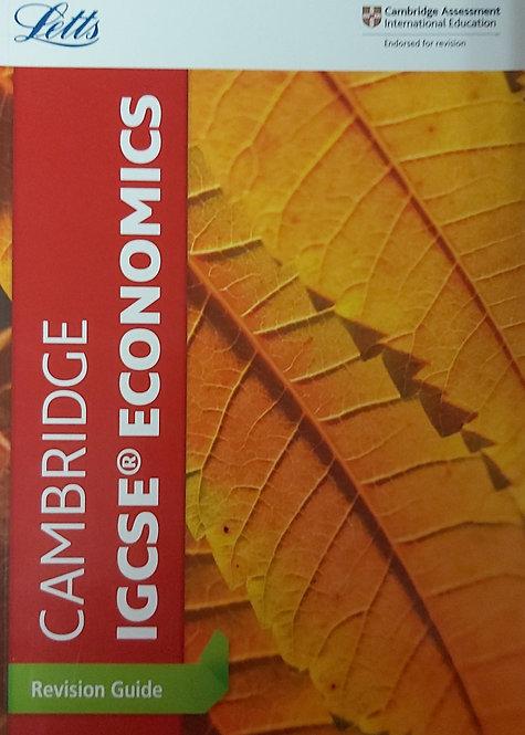 Letts-Igcse Economics Revision Guide