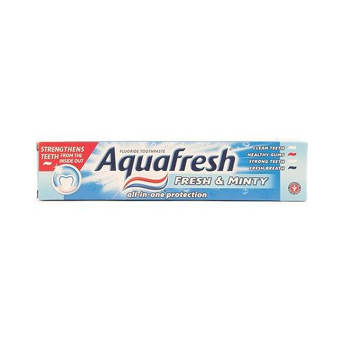 Aquafresh 4 Blue (Fresh & Minty)-100ml