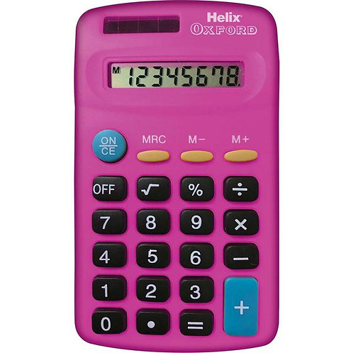 Calculatrice Helix Basic Rose