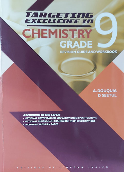 Targeting Excellence In Chemistry Grade 9