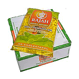 Rajah Oil- Box Of 4 X 1L Pouches