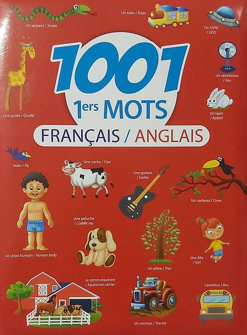 1001 1ers Mots Francais - Anglais