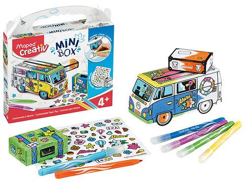 Maped Creativ Mini Box Customisable Paper Toy