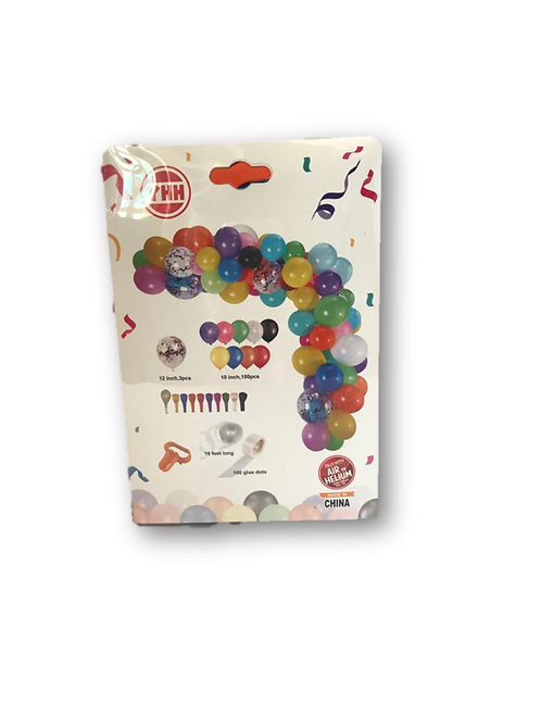 Celebration Set Ballons-Assorted Colours
