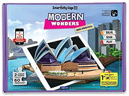 Modern wonders Magic jigsaw puzzle