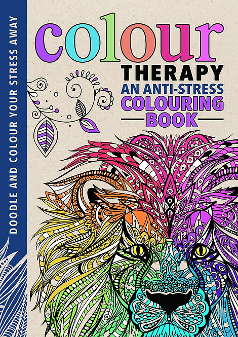 Colour Therapy- An Anti Stress Colouring Book