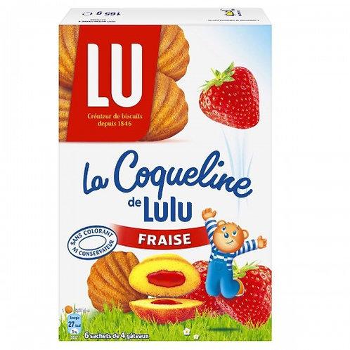 Lu Coqueline Fraise 165g