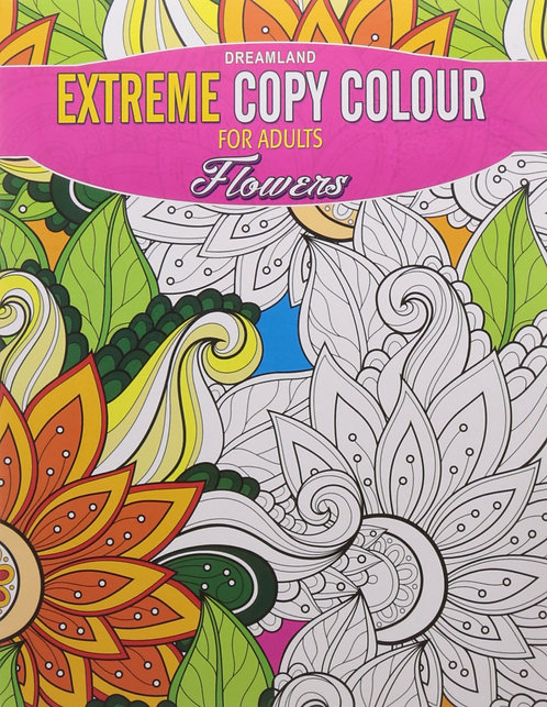 Extreme Copy Colour for adults- Flowers