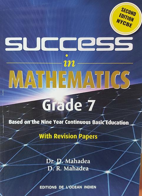 Success In Mathematics Grade 7 - 2Nd Ed