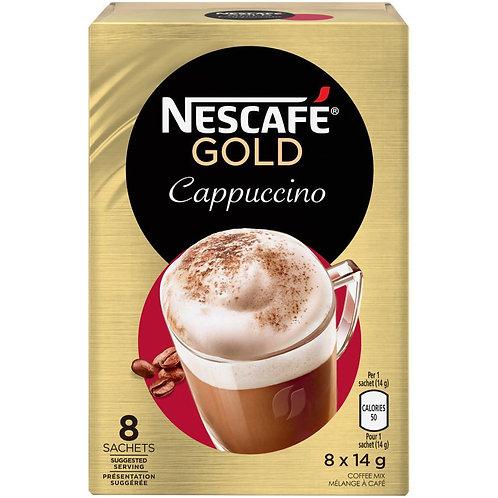 Nescafe Gold Cappuccino (8X17g)