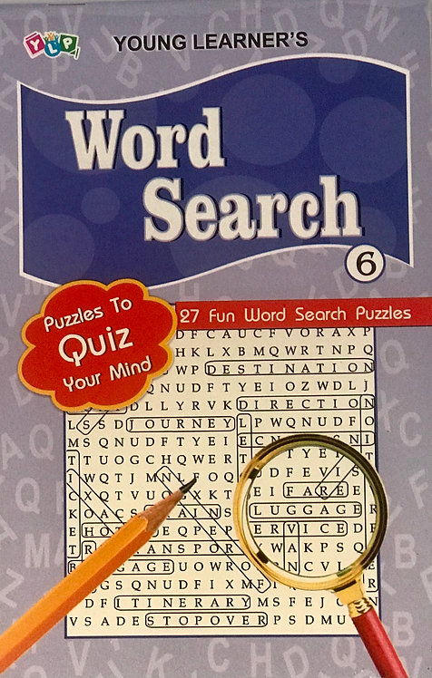 Word Search Puzzles Level 6