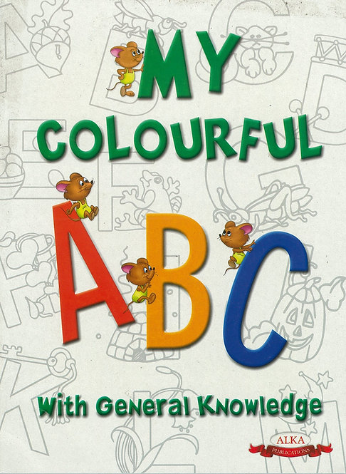 My Colourful Abc With Gk