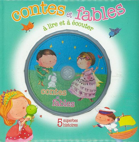 Contes et Fables � lire et � �couter + CD