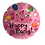 Thumbnail: Party Paper Plates Round-Birthday (23cm-pack of 10)