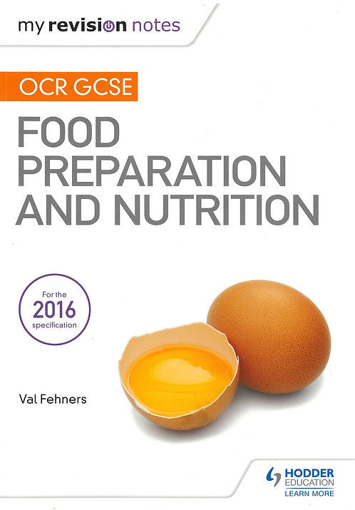 Food Preparation and Nutrition OCR GCSE