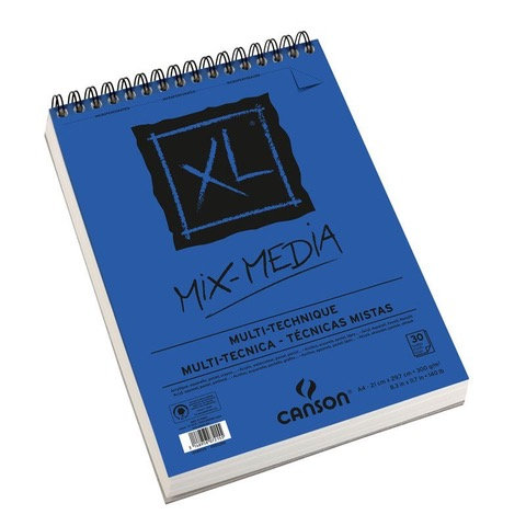 Canson Mix Media 30 Sheets A4 300g