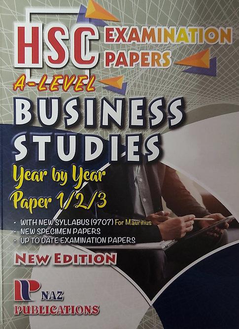 Naz-Business Studies Hsc/Gce A-Level 2020
