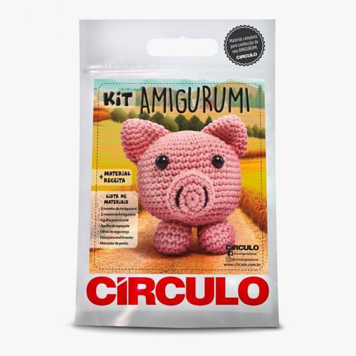 Círculo Kit Amigurumi (Safári Baby) Lã Formosa | 500x500