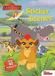Disney The Lion Guard Sticker Scenes