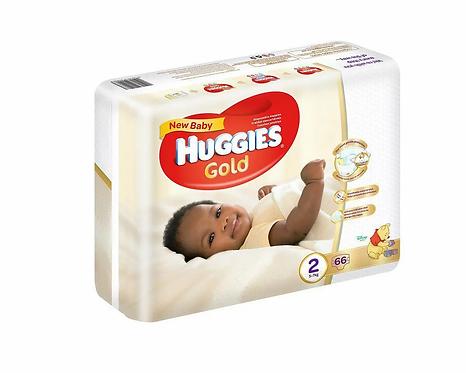 Huggies Dry Comfort Size 2 (5-7kg)-(Pack of 66)
