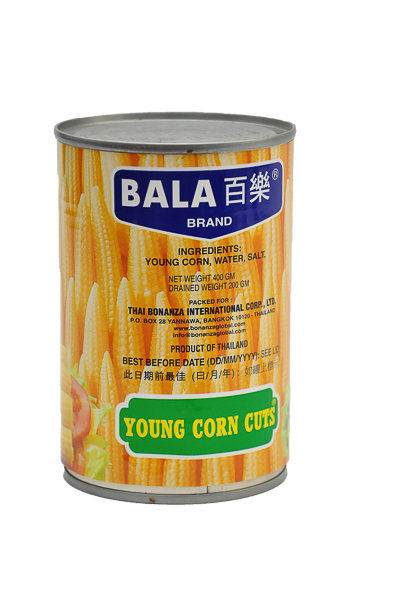 Bala Young Corn Cut 400g